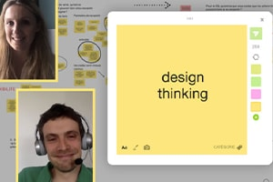 Organizing innovation sprints using Design Thinking with Klaxoon