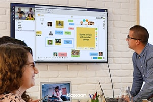 Microsoft and Klaxoon connect their collaborative tools