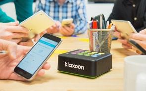 Klaxoon Box, a plug and play innovation for your meetings