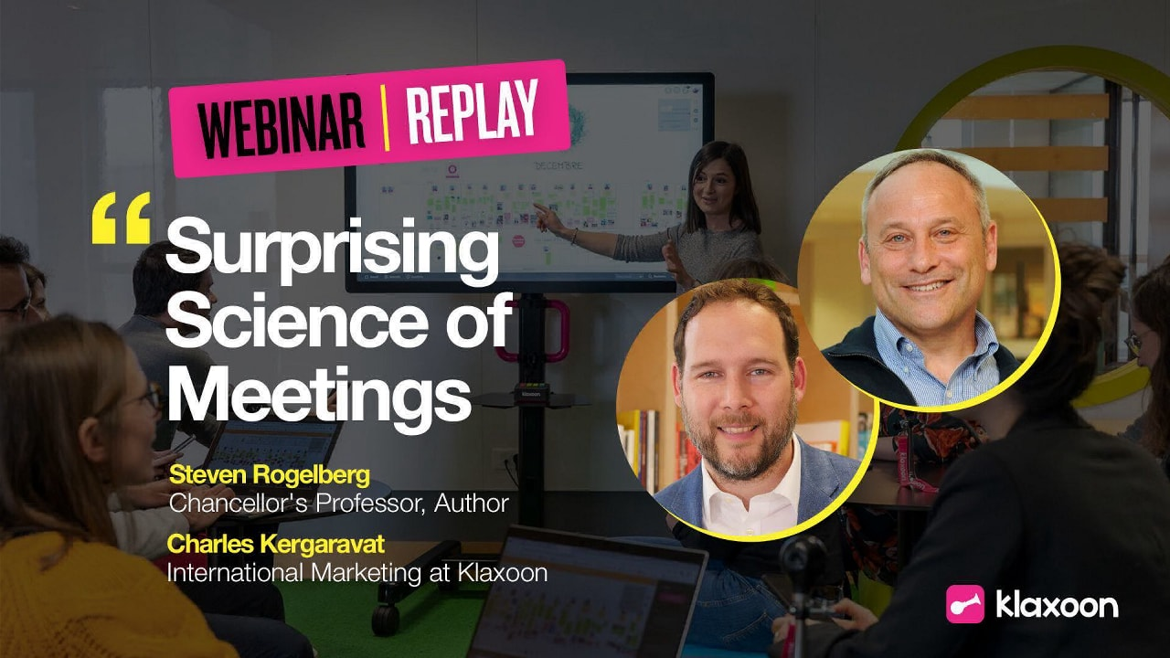 "Discover ""The Surprising Science of Meetings"""