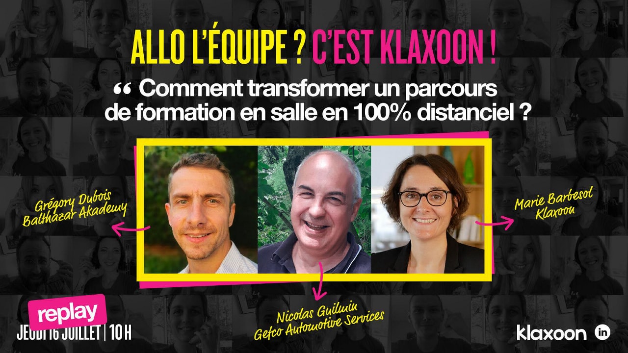 Comment transformer un parcours de formation en 100% distanciel ?