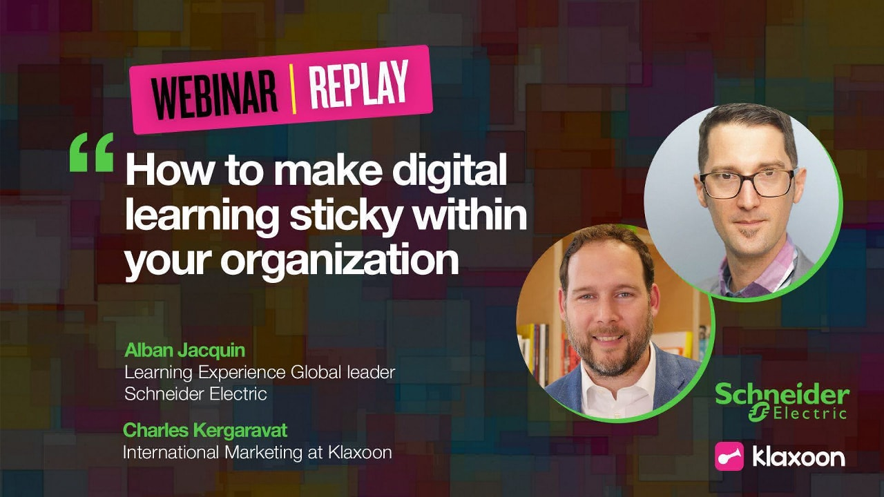 How to make digital learning sticky within your organization