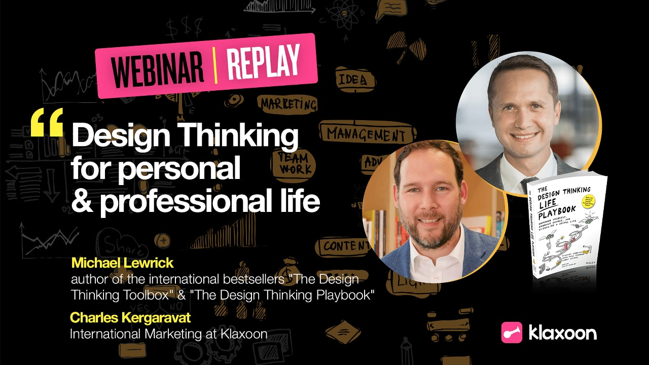 Design Thinking for personal & professional life
