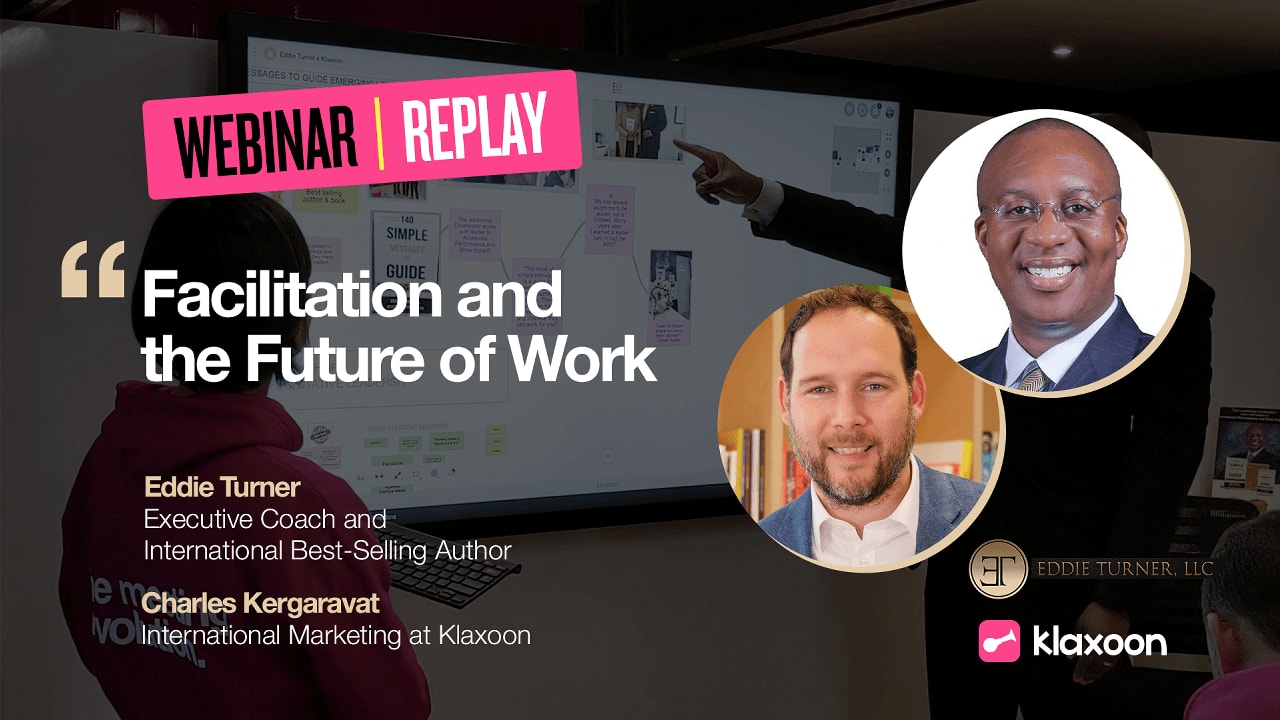 Facilitation and the Future of Work