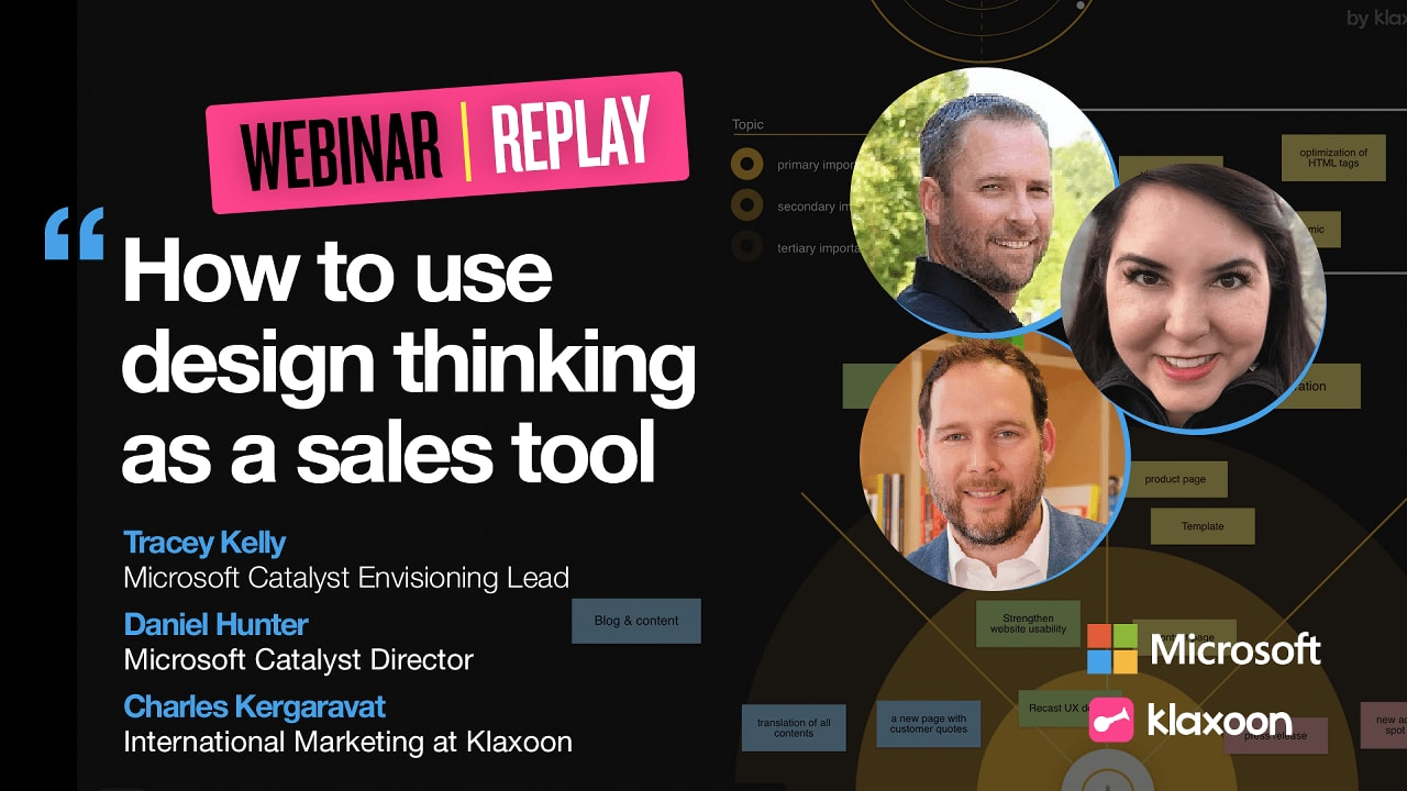 How to use design thinking as a sales tool