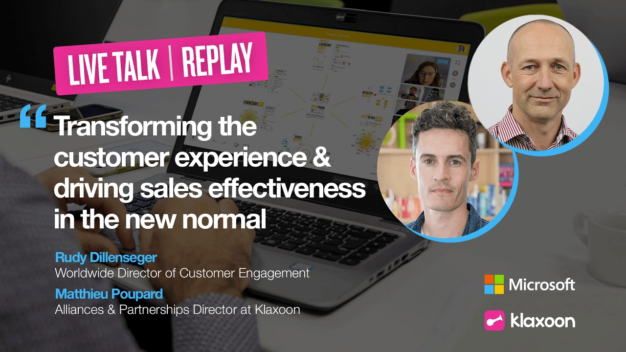 Transforming the customer experience and driving sales effectiveness in the new normal