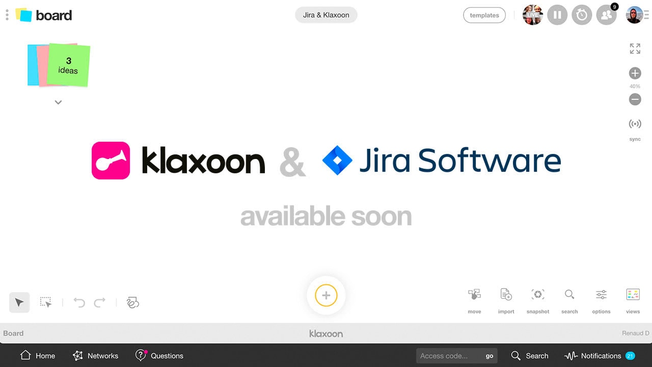 Jira soon available in Klaxoon